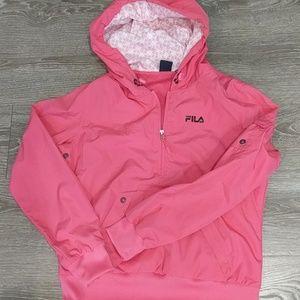 Fila pullover hooded jacket
